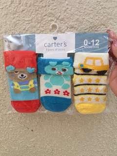 Carter's Baby Socks 0-12 Months