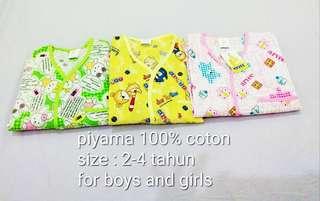 Piyama cotton 💯%
