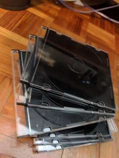 Polystyrene CD DVD archival cases