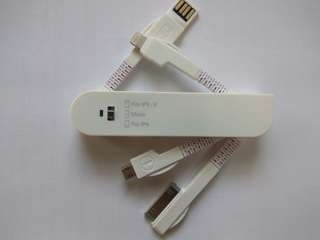 3 in 1 USB Data Cable Synic Charger Cable for Iphone/ipad/pc/cellphone