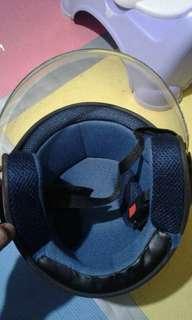 helmet half face brandnew