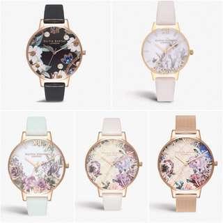 (價錢睇產品描述)Olivia Burton錶