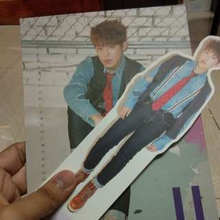 Nothing Without  You standee and calender card  Park Woojin
