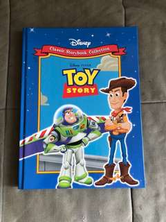 Toystory Eng. story book Buzz Lightyear Woody