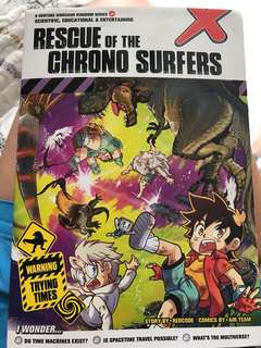 X-Venture Rescue of The Chrono Surfers