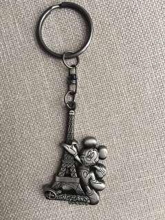 Paris Disneyland Keychain