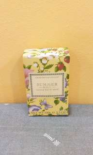 BRAND NEW Crabtree & Evelyn Summer Hill Scented Bath Soap