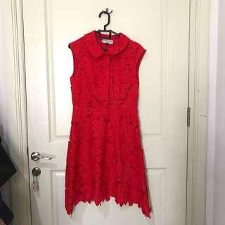 Valentino Red Dress (beli 800rb)