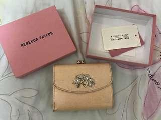 購自日本 Rebecca Taylor 粉紅色銀包