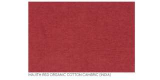 Organic Cotton Cambric by the metre