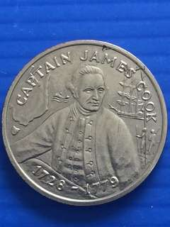 Australia James Cook Token 1988
