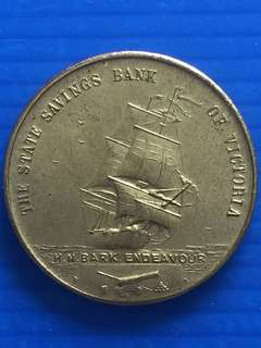 Australia James Cook Token 1970