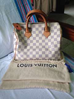 Louis Vuitton Speedy 25 in Damier Azur