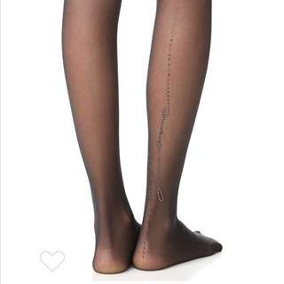 WOLFORD LOVE LETTER STOCKINGS