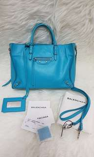 Authentic Balen mini papier blue