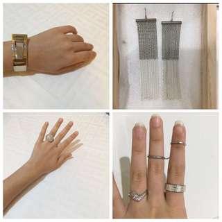 Silver Set Jewelry