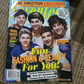 Seventeen mag One Direction