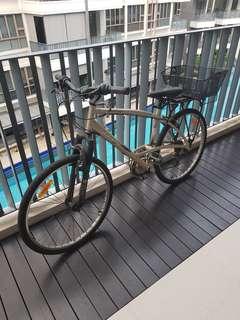 Lady bike (decathlon)