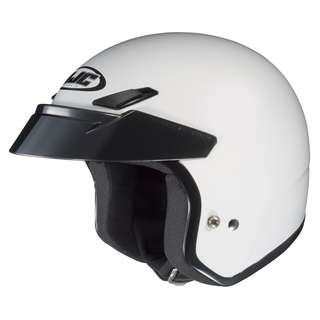 HJC CS-5 XX-Large Only Open Face Motorbike Motorcycle Cruiser Harley Davidson Helmet White