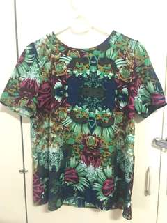 Floral Top *free shipping*