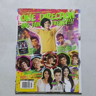 One Direction magazine Word up #32