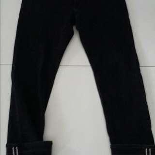 Uniqlo Jeans Kepala Kain
