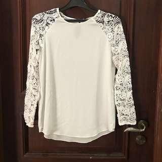 Zara lace blouse