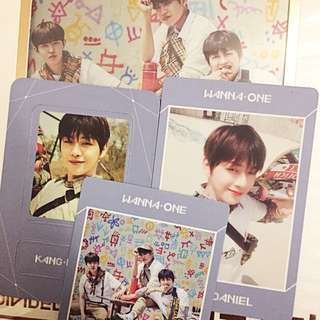 Wanna One Undivided Unit Album Triple Position Kang Daniel Full Set