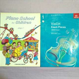 SUPER CHEAP Piano and Violin Beginner Books
