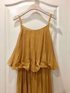 Maternity pleat dress UK8-10