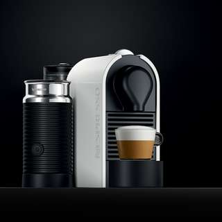 Nespresso UMilk with Milk Frother and Capsules Container