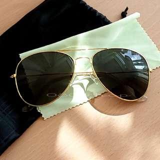 🚚 ★黑片金框高顏值太陽眼鏡