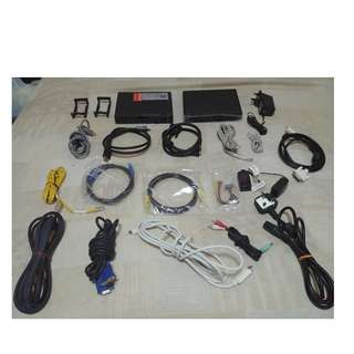 modem,routers ,hdmi , display port , dvi , vga , ethernet ,patch etc all in one bundle set