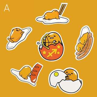 🚚 Sanrio Gudetama Waterproof laptop stickers decal diecut