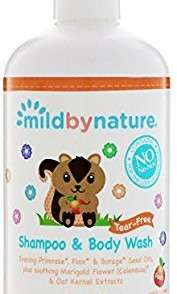 MILD BY NATURE  5.0 out of 5 stars  1Reviews  Mild By Nature For Baby Tear-Free Shampoo Body Wash Peach 12 85 fl oz 380 ml