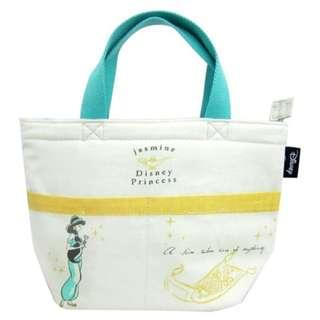 迪士尼Disney 阿拉丁 茉莉公主 保冷袋 便當袋 提袋/購物袋 手提包 toreba景品 日本空運直送