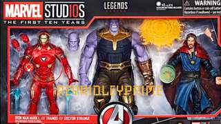 Marvel Legends 10th Anniversary Set Avengers: Infinity War 3-Pack
