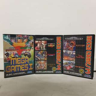 Sega Mega Drive - Mega Games Collection 1 2 3 [BN]