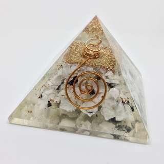 Moonstone Orgone Pyramid