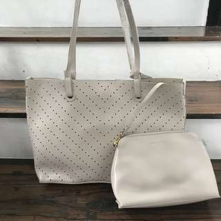 Authentic Charles & Keith Tote Bag