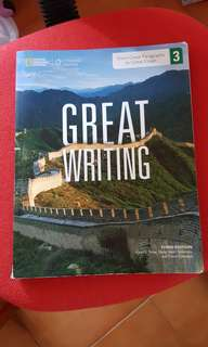 🚚 Great Writing 3 From Great Paragraphs to Great Essays #畢業兩百元出清