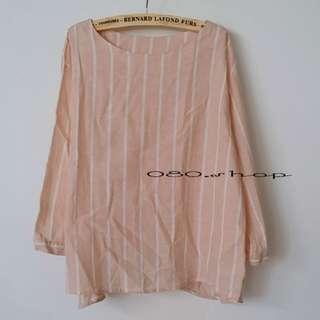🚚 日系清新棉麻寬鬆蝴蝶結袖口上衣