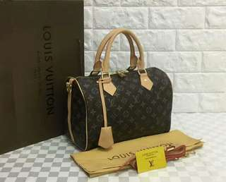 Louis Vuitton Speedy 30 Bandouliere Monogram