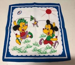 Mickey Mouse Handkerchief vintage design