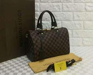 Louis Vuitton Speedy 30 Bandouliere Damier
