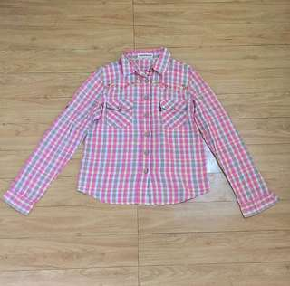 Pink Checkered Flannel