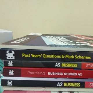 A-LEVELS BUSINESS BOOKS