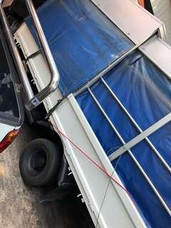14ft sliding canopy for sale