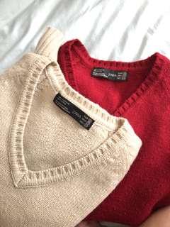 Zara Knit Sweaters