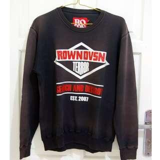 """Sweater """"ROWN DIVISION"""" Terror Logo Murah!"""
